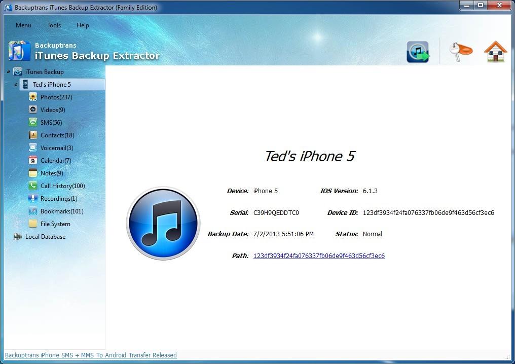 backuptrans android iphone whatsapp transfer  (x64) license key